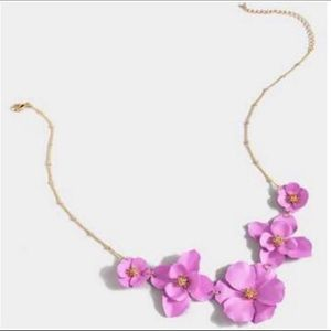 Francesca's Collections Necklace Pink